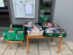 Stor succes med gratis bøger i Hedegaven